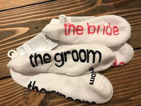 engagment gift notes to self socks i am the bride i am the groom cold feet 221 creations